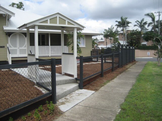 Fencing Pad Landscaping